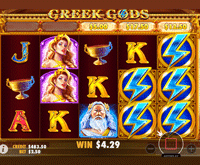 Bingo For Money Greek Gods Game