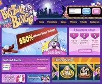 BigTime Bingo homepage