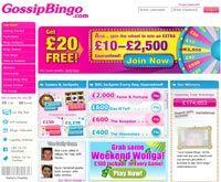 Gossip Bingo Home page