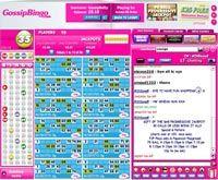Gossip bingo game