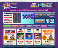 City bingo promotions page