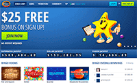 Bingo Hall homepage