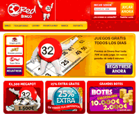 32 red bingo home page
