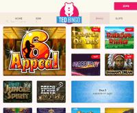 Ted Bingo Games