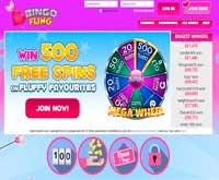bingo fling home screenshot