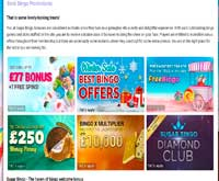 sugar bingo promotions screenshot