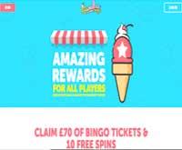 sundae bingo home screenshot
