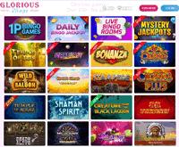 Glorious Bingo Games