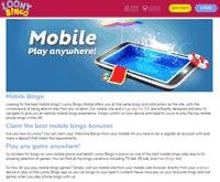 Loony Bingo Mobile