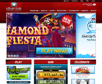Silver Oak Casino Homepage