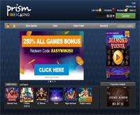 prism casino lobby screenshot