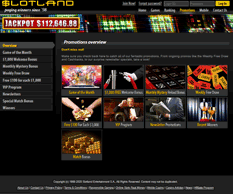 Slotland Casino Promotions
