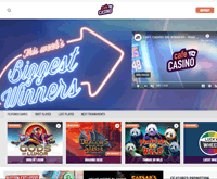 Cafe Casino Homepage