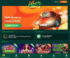 Playcroco Homepage