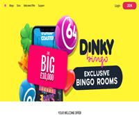 dinky bingo home page