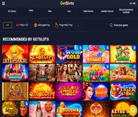 Getslots Casino Homepage