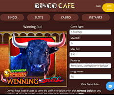 Bingo Cafe Games