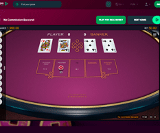 Greenspinbet Baccarat game
