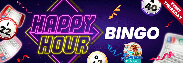 Happy hour bingo bingospirit