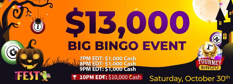 $13K Big Bingo Event at BingoFest